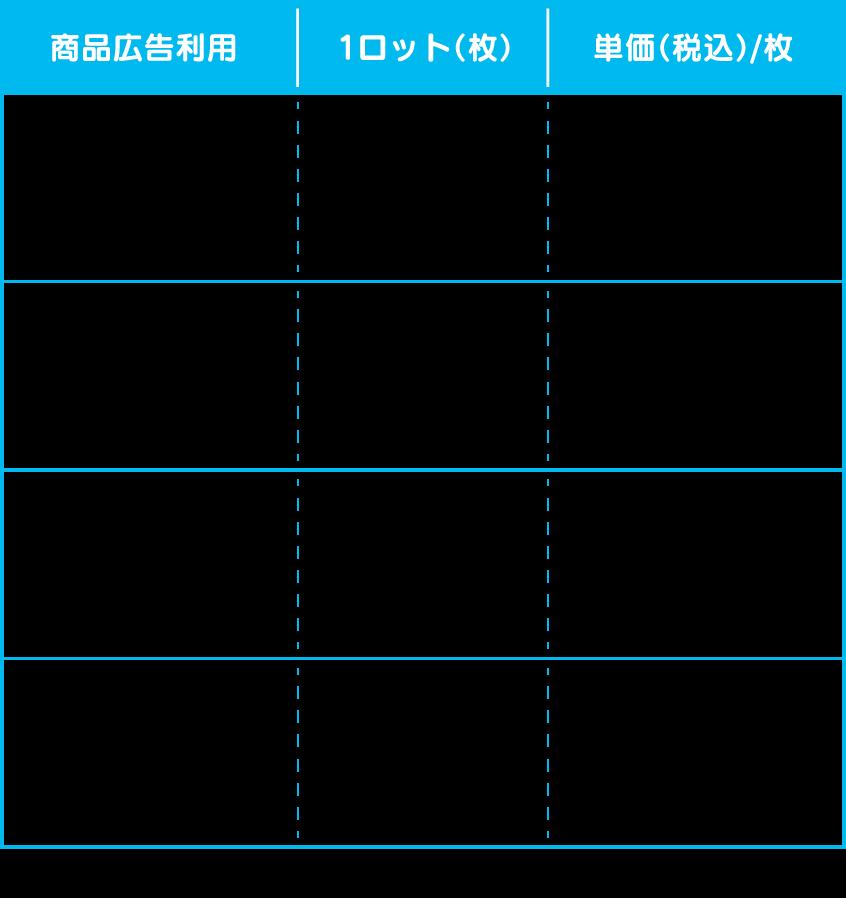アドレット価格表